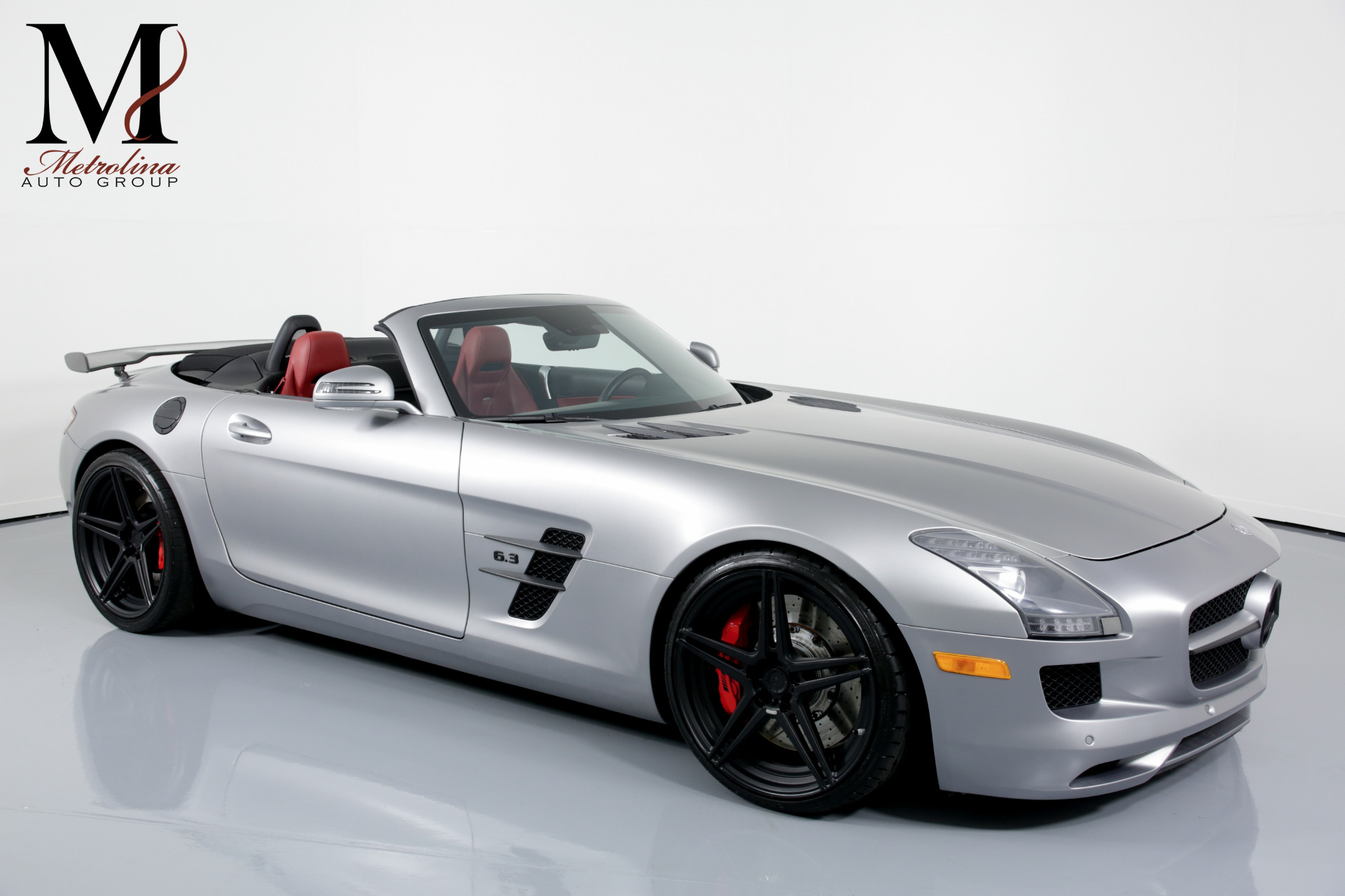 Used 2012 Mercedes-Benz SLS AMG for sale $139,996 at Metrolina Auto Group in Charlotte NC 28217 - 1