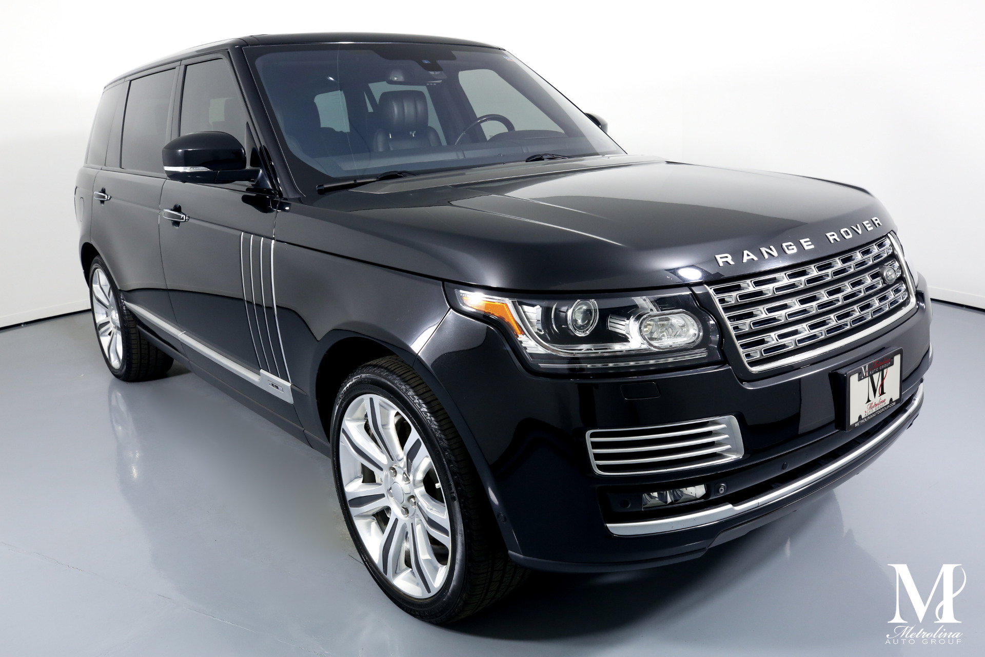 Used 2015 Land Rover Range Rover Autobiography Black LWB for sale $74,996 at Metrolina Auto Group in Charlotte NC 28217 - 2