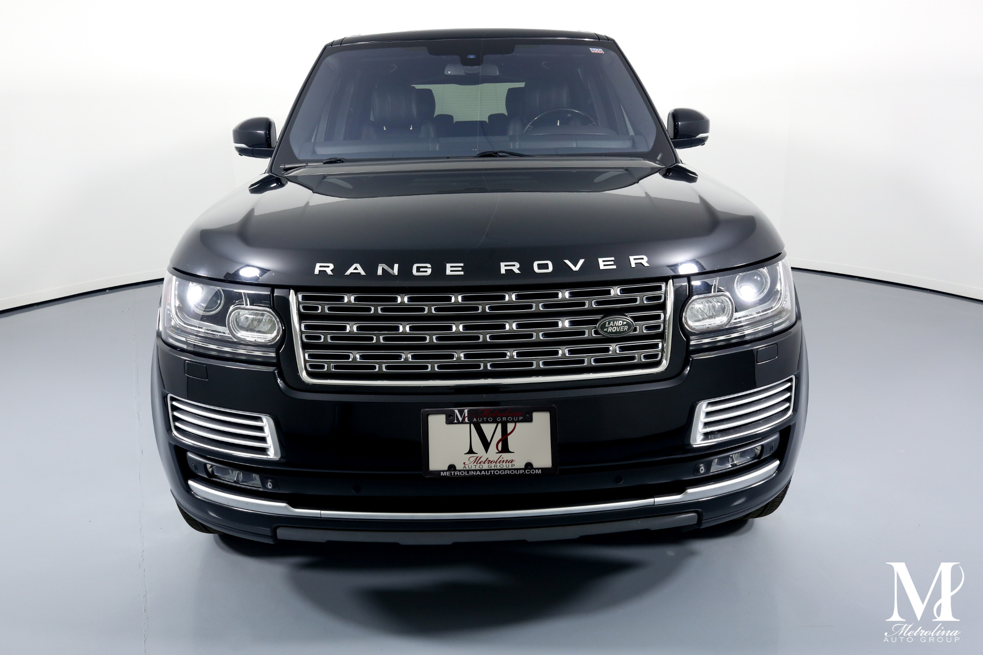Used 2015 Land Rover Range Rover Autobiography Black LWB for sale $74,996 at Metrolina Auto Group in Charlotte NC 28217 - 3