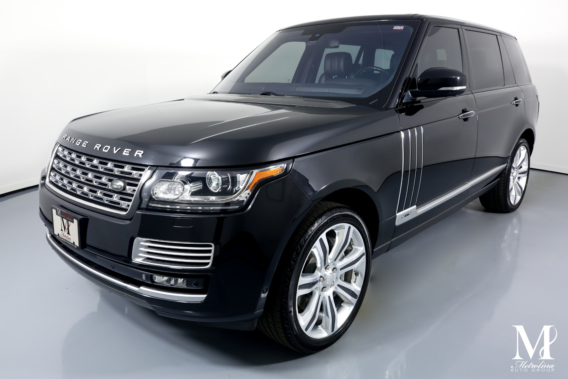 Used 2015 Land Rover Range Rover Autobiography Black LWB for sale $74,996 at Metrolina Auto Group in Charlotte NC 28217 - 4