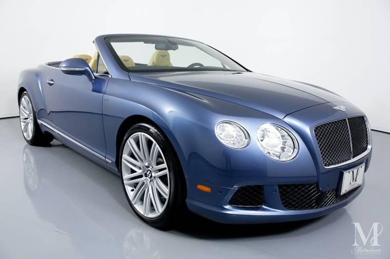 Used 2014 Bentley Continental GT Speed AWD 2dr Convertible for sale Sold at Metrolina Auto Group in Charlotte NC 28217 - 3