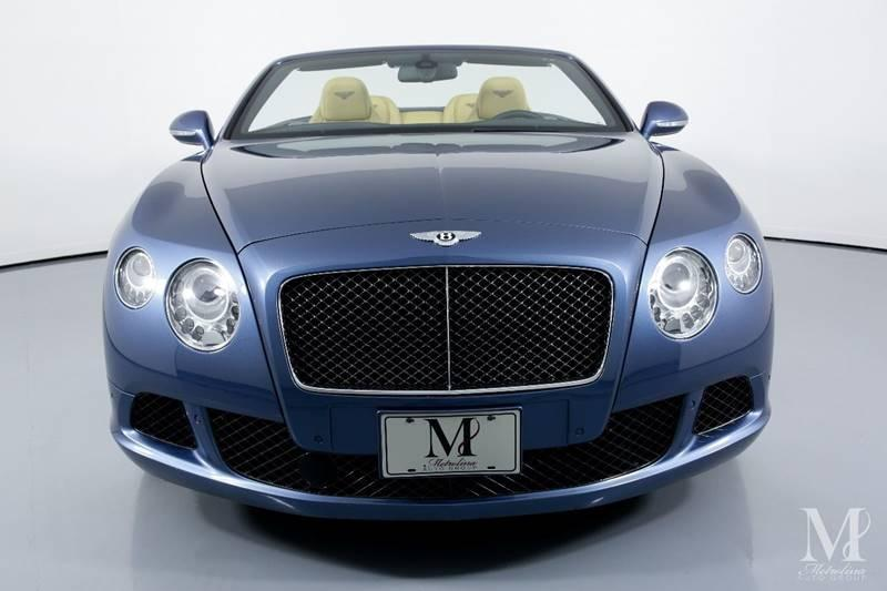 Used 2014 Bentley Continental GT Speed AWD 2dr Convertible for sale Sold at Metrolina Auto Group in Charlotte NC 28217 - 4