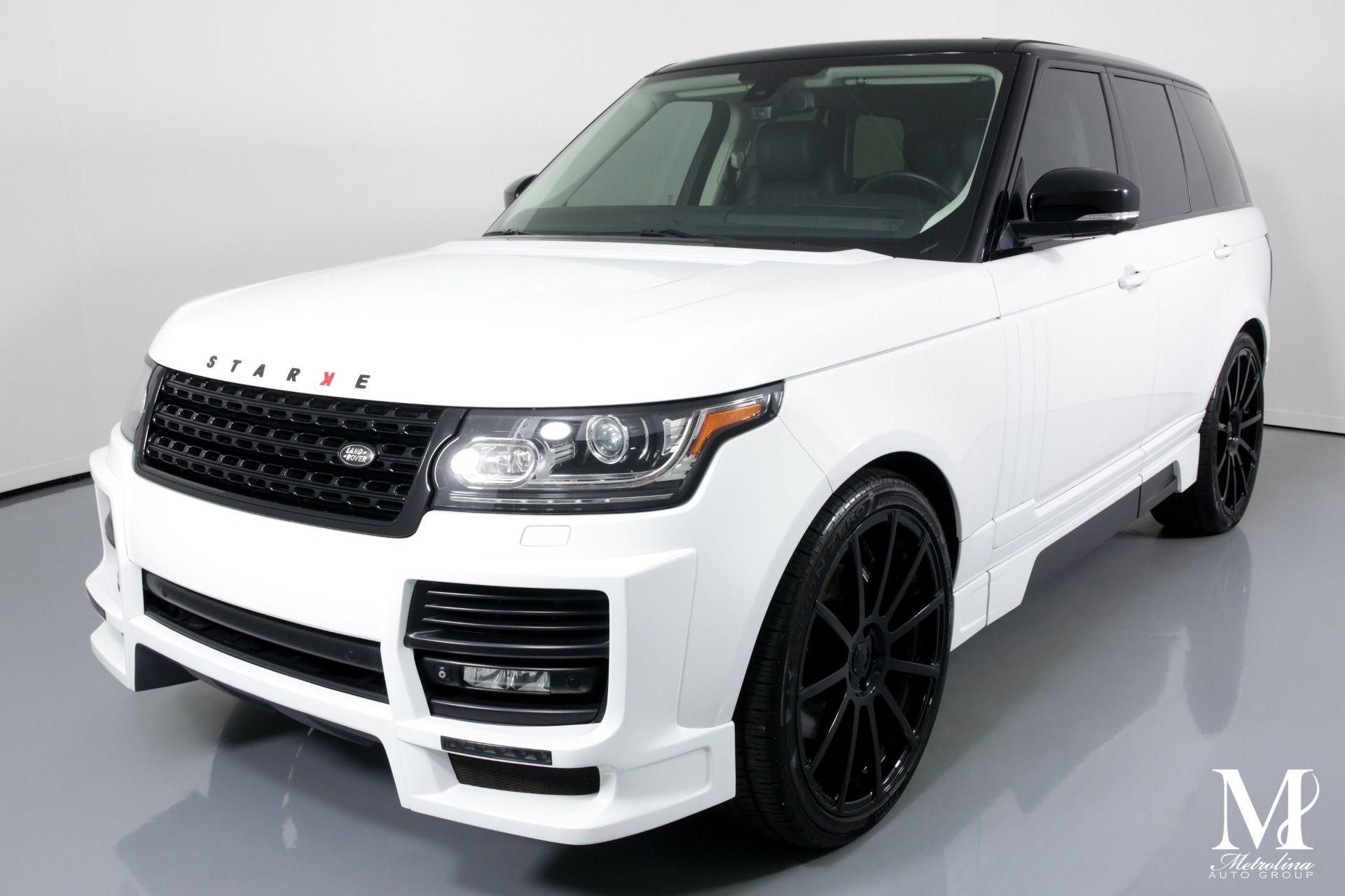 Used 2013 Land Rover Range Rover HSE for sale $69,996 at Metrolina Auto Group in Charlotte NC 28217 - 4