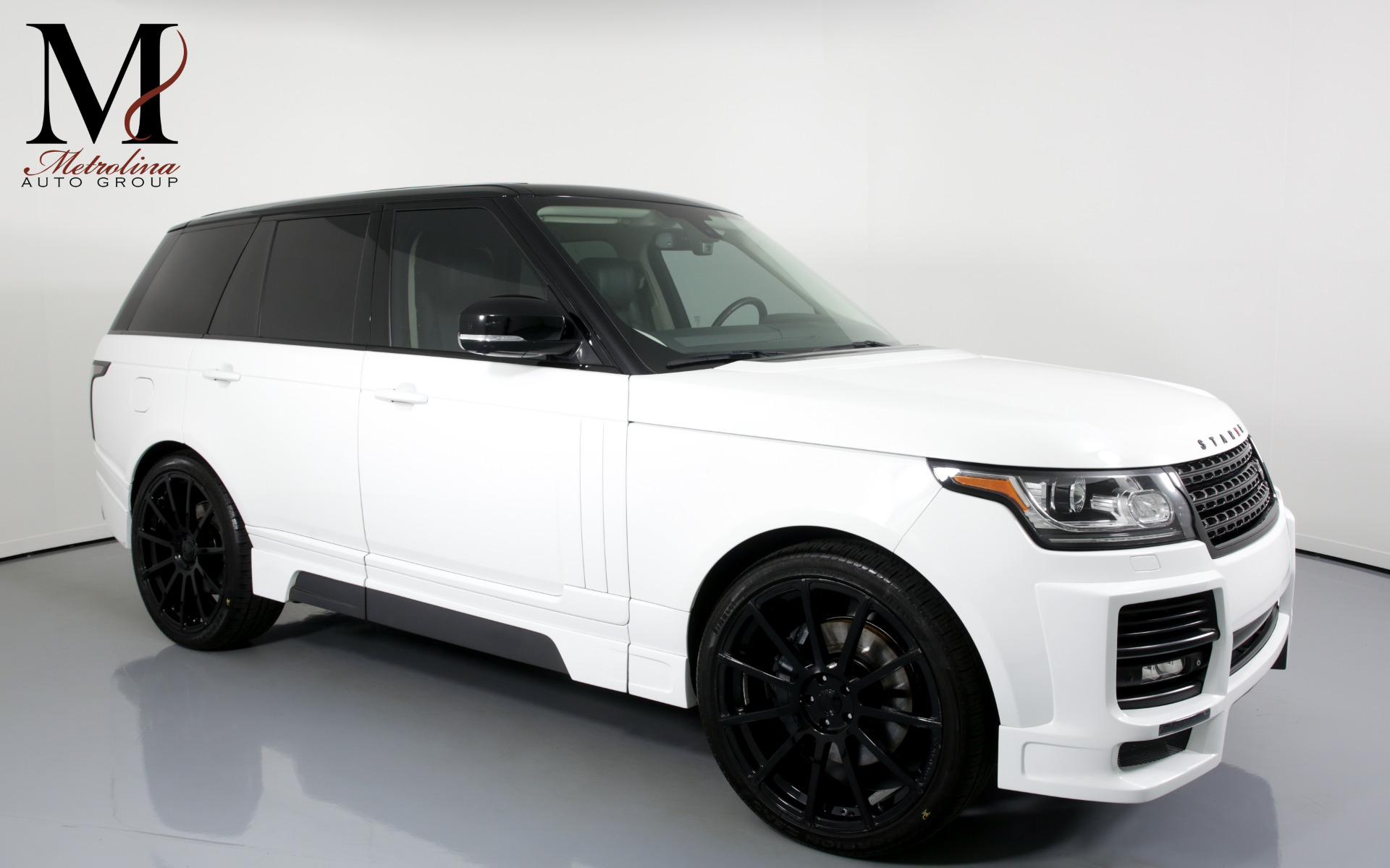 Used 2013 Land Rover Range Rover HSE for sale $69,996 at Metrolina Auto Group in Charlotte NC 28217 - 1