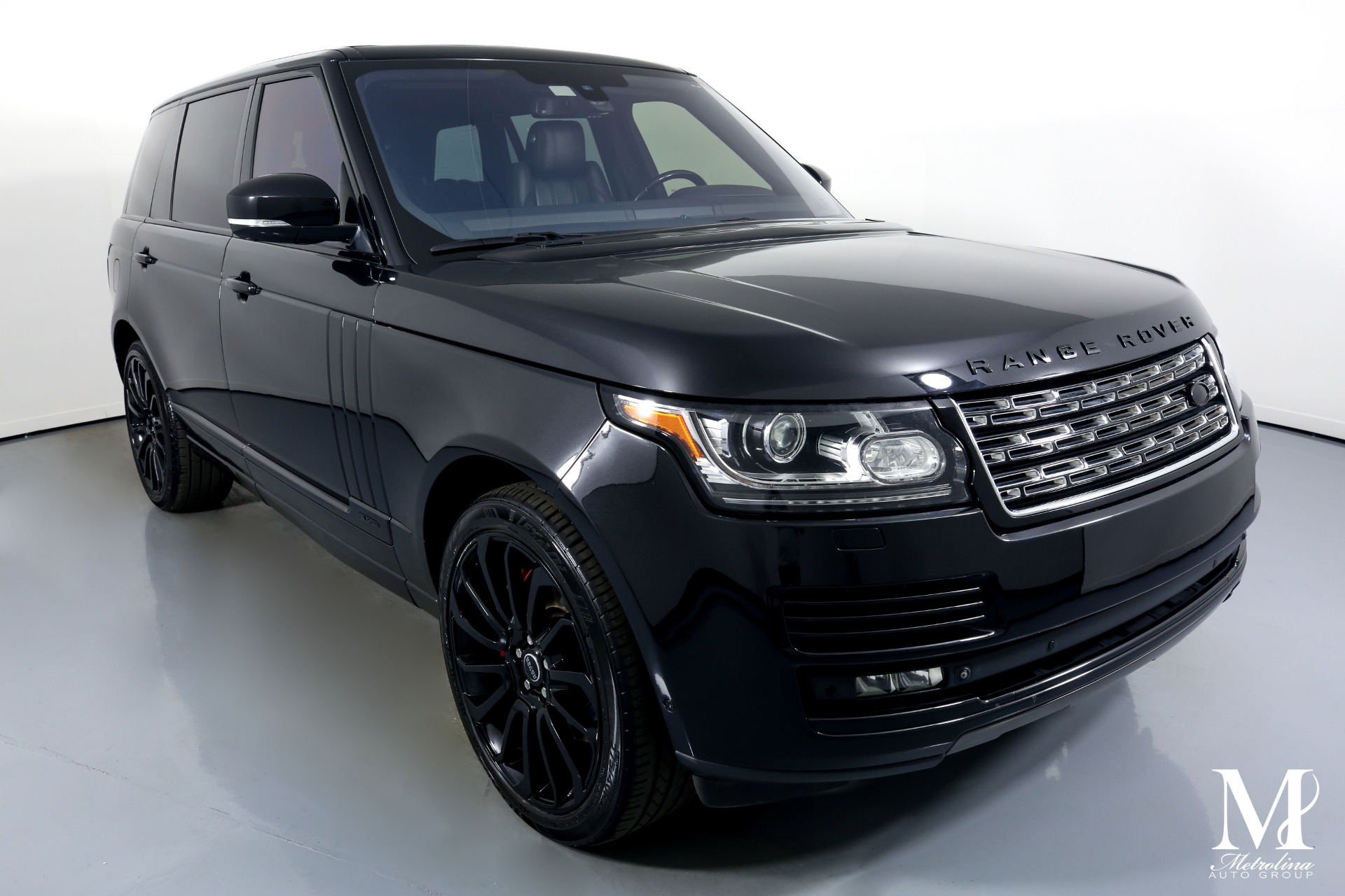 Used 2015 Land Rover Range Rover Supercharged LWB for sale $59,996 at Metrolina Auto Group in Charlotte NC 28217 - 2