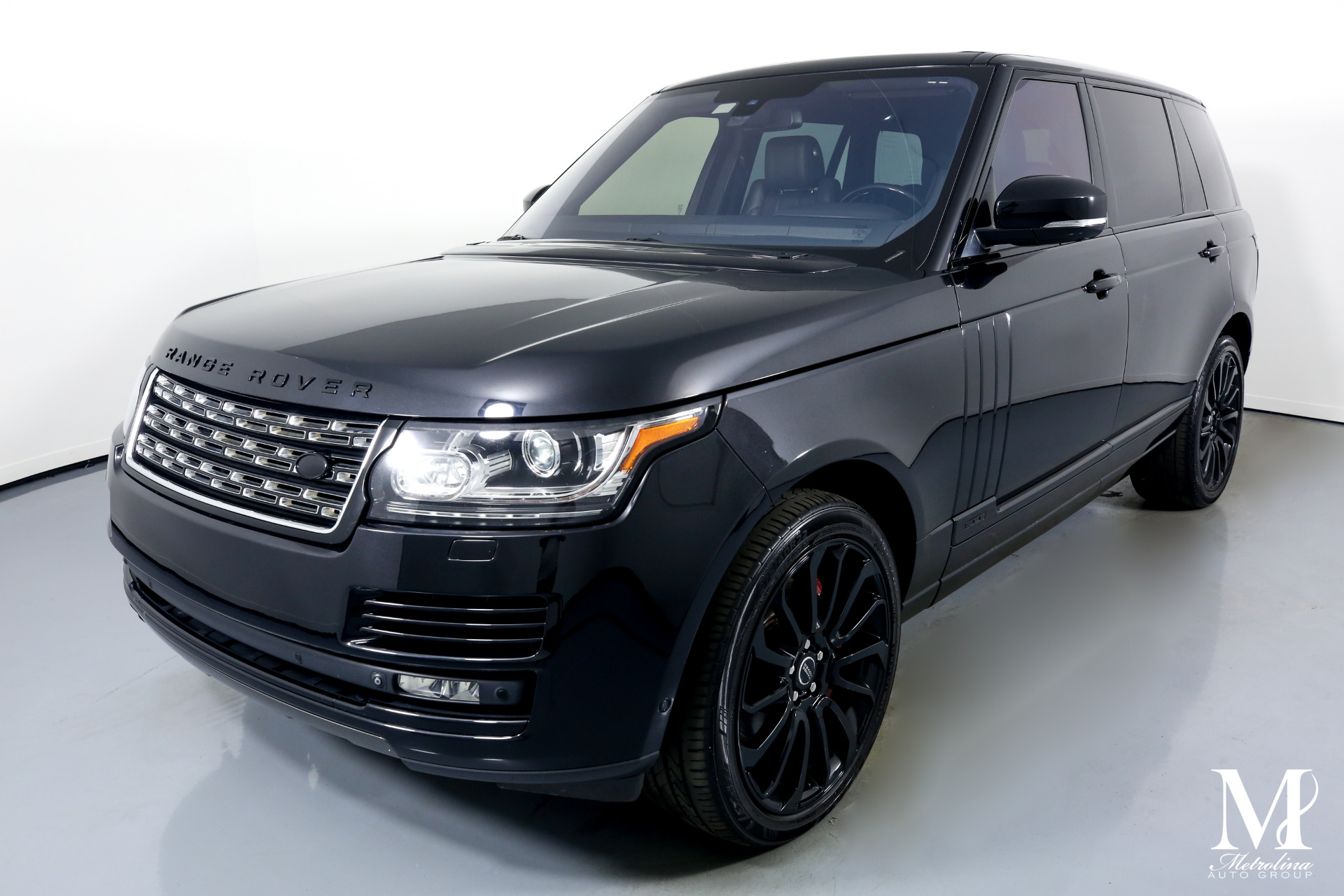 Used 2015 Land Rover Range Rover Supercharged LWB for sale $59,996 at Metrolina Auto Group in Charlotte NC 28217 - 4
