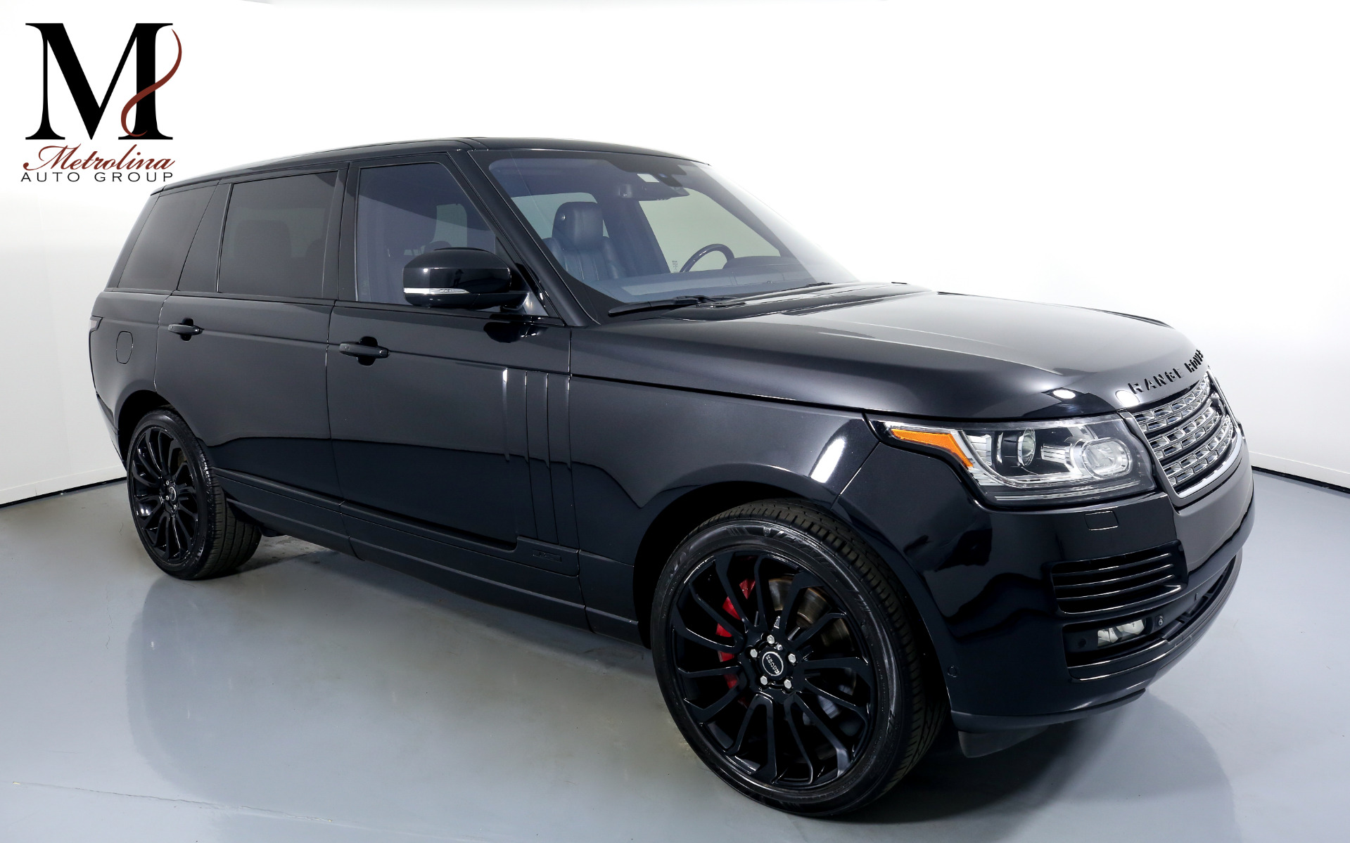 Used 2015 Land Rover Range Rover Supercharged LWB for sale $59,996 at Metrolina Auto Group in Charlotte NC 28217 - 1