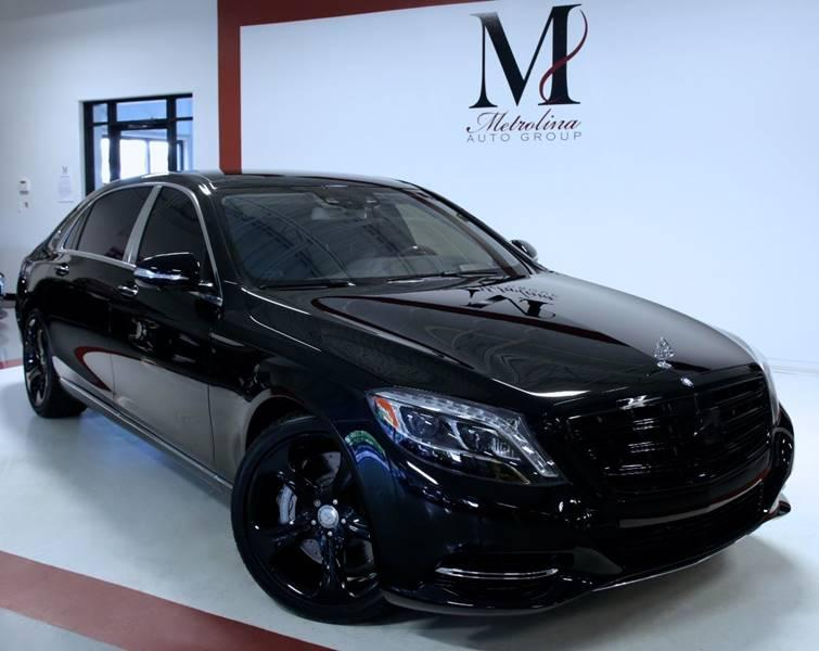 Used 2016 Mercedes-Benz S-Class Mercedes Maybach S 600 4dr Sedan for sale Sold at Metrolina Auto Group in Charlotte NC 28217 - 2
