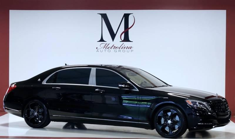 Used 2016 Mercedes-Benz S-Class Mercedes Maybach S 600 4dr Sedan for sale Sold at Metrolina Auto Group in Charlotte NC 28217 - 1