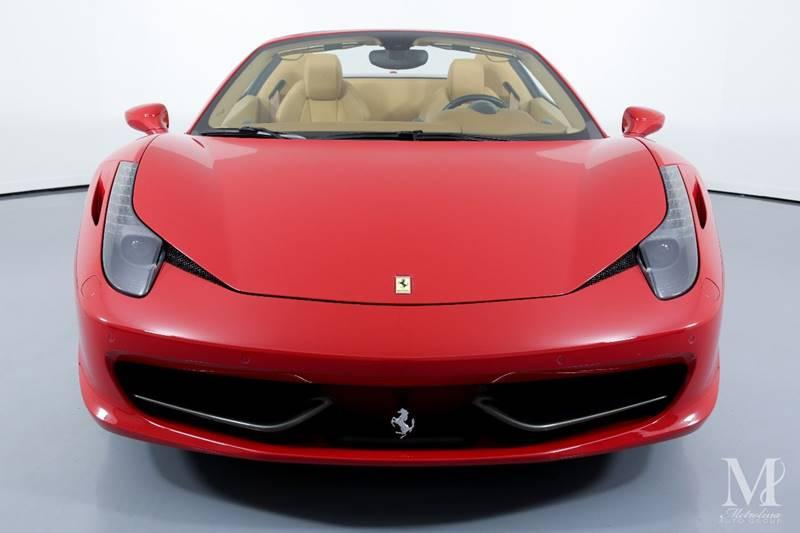 Used 2015 Ferrari 458 Spider Base 2dr Convertible for sale Sold at Metrolina Auto Group in Charlotte NC 28217 - 4