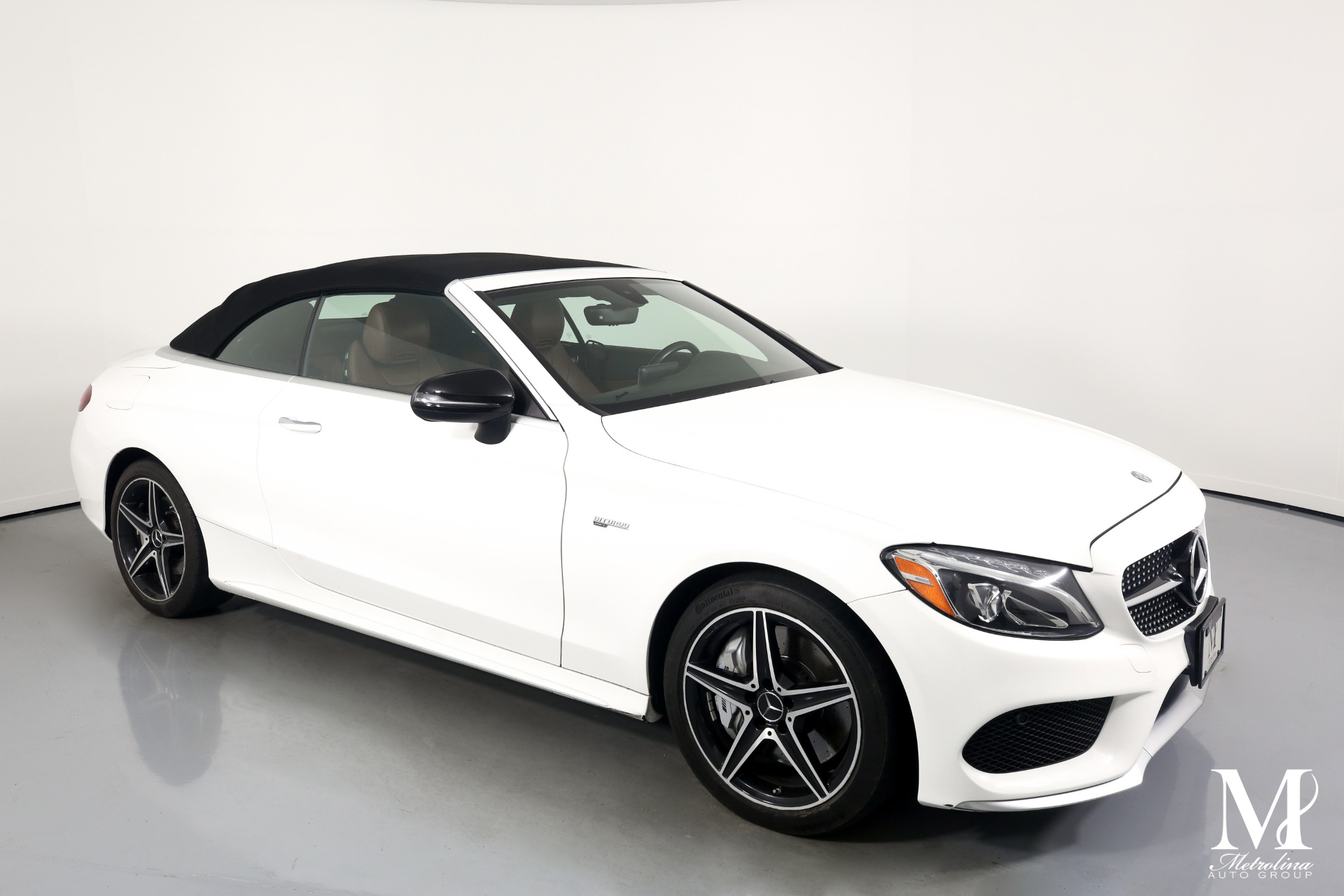 Used 2017 Mercedes-Benz C-Class AMG C 43 for sale $59,996 at Metrolina Auto Group in Charlotte NC 28217 - 2