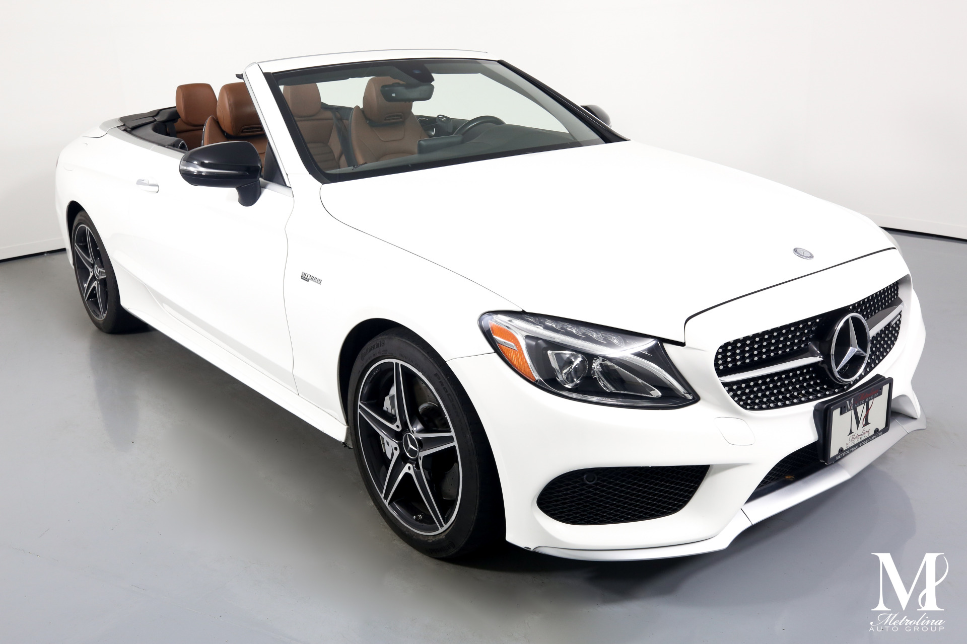 Used 2017 Mercedes-Benz C-Class AMG C 43 for sale $59,996 at Metrolina Auto Group in Charlotte NC 28217 - 3