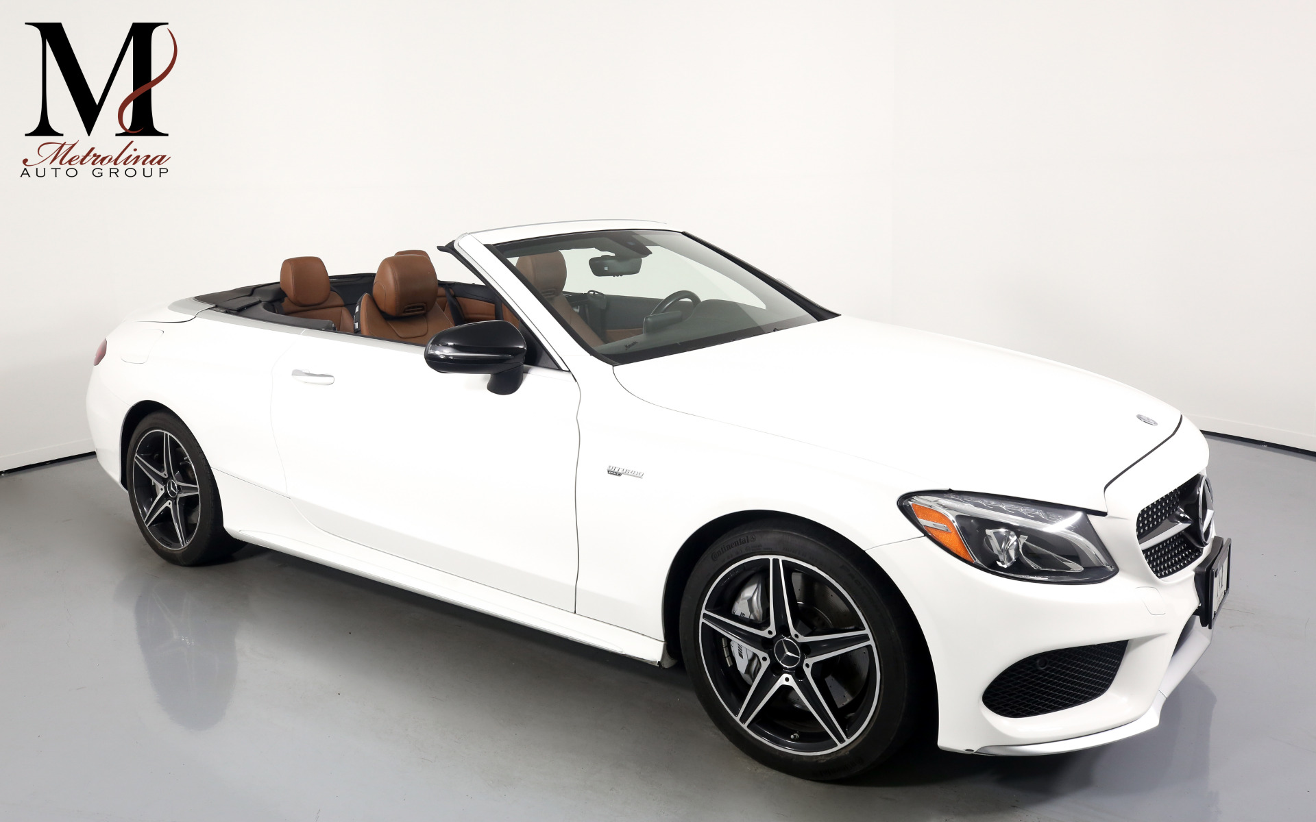 Used 2017 Mercedes-Benz C-Class AMG C 43 for sale $59,996 at Metrolina Auto Group in Charlotte NC 28217 - 1