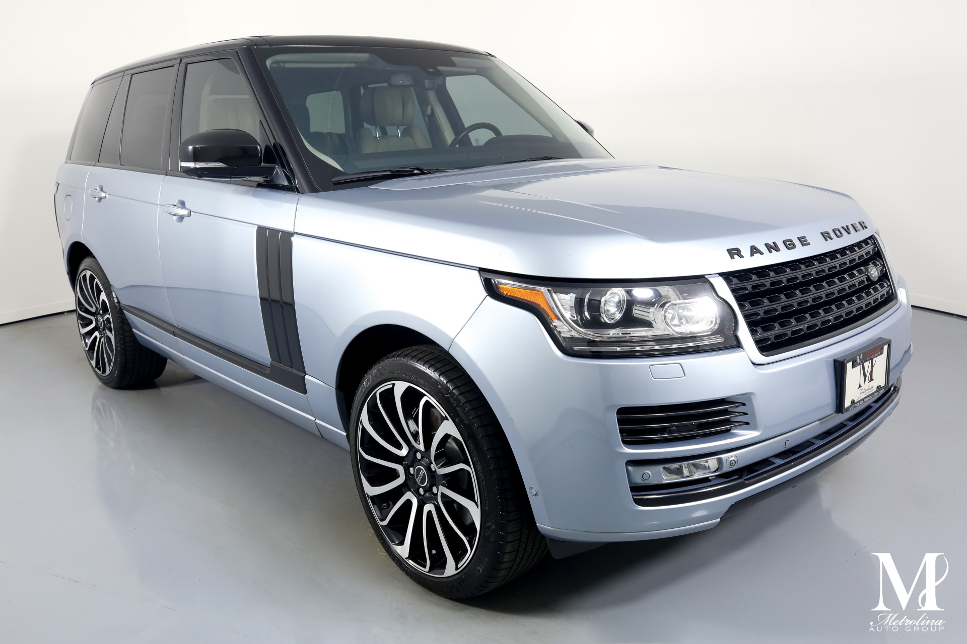 Used 2014 Land Rover Range Rover Autobiography for sale $53,996 at Metrolina Auto Group in Charlotte NC 28217 - 2