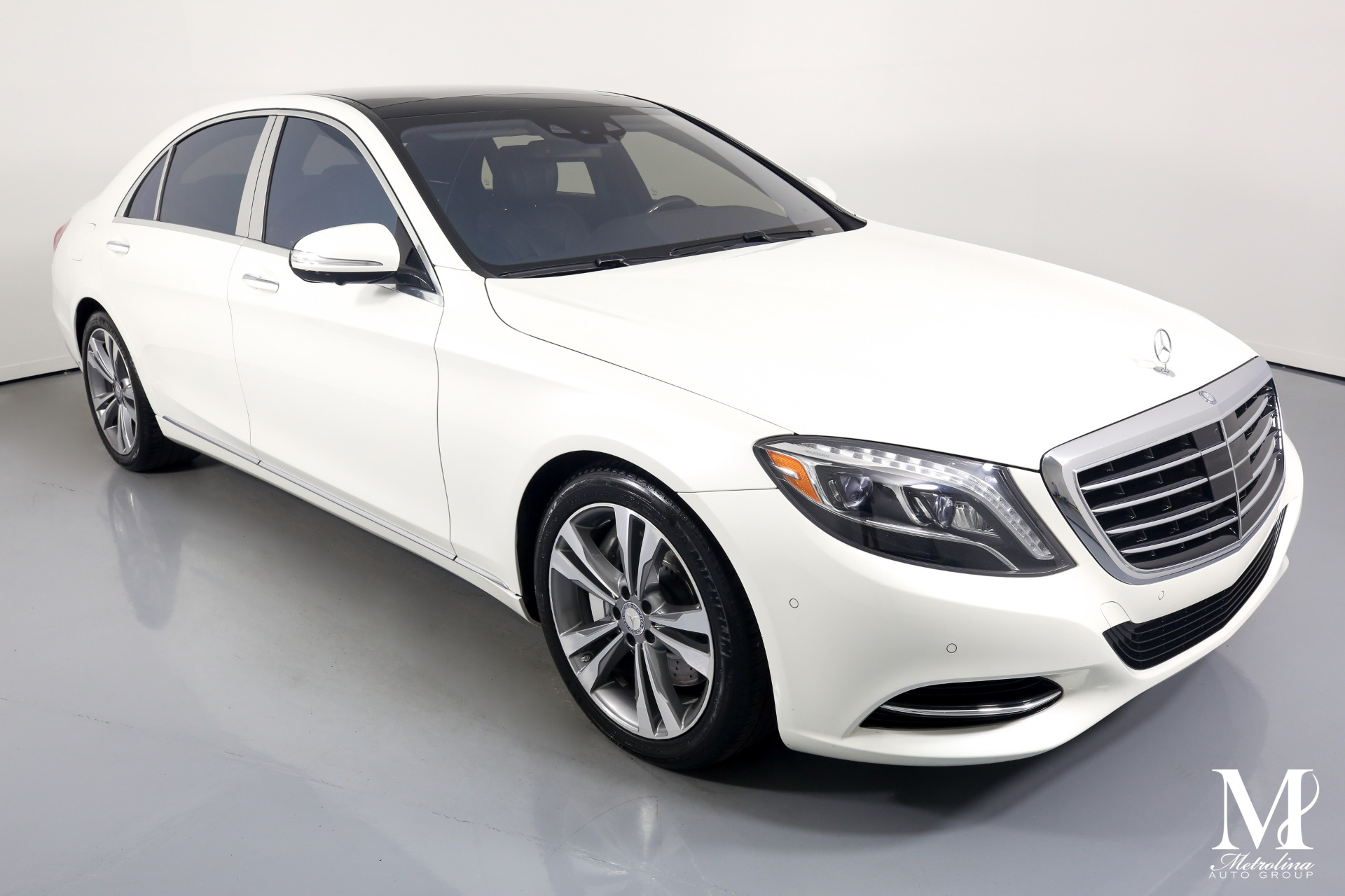 Used 2015 Mercedes-Benz S-Class S 550 4MATIC for sale $49,996 at Metrolina Auto Group in Charlotte NC 28217 - 2