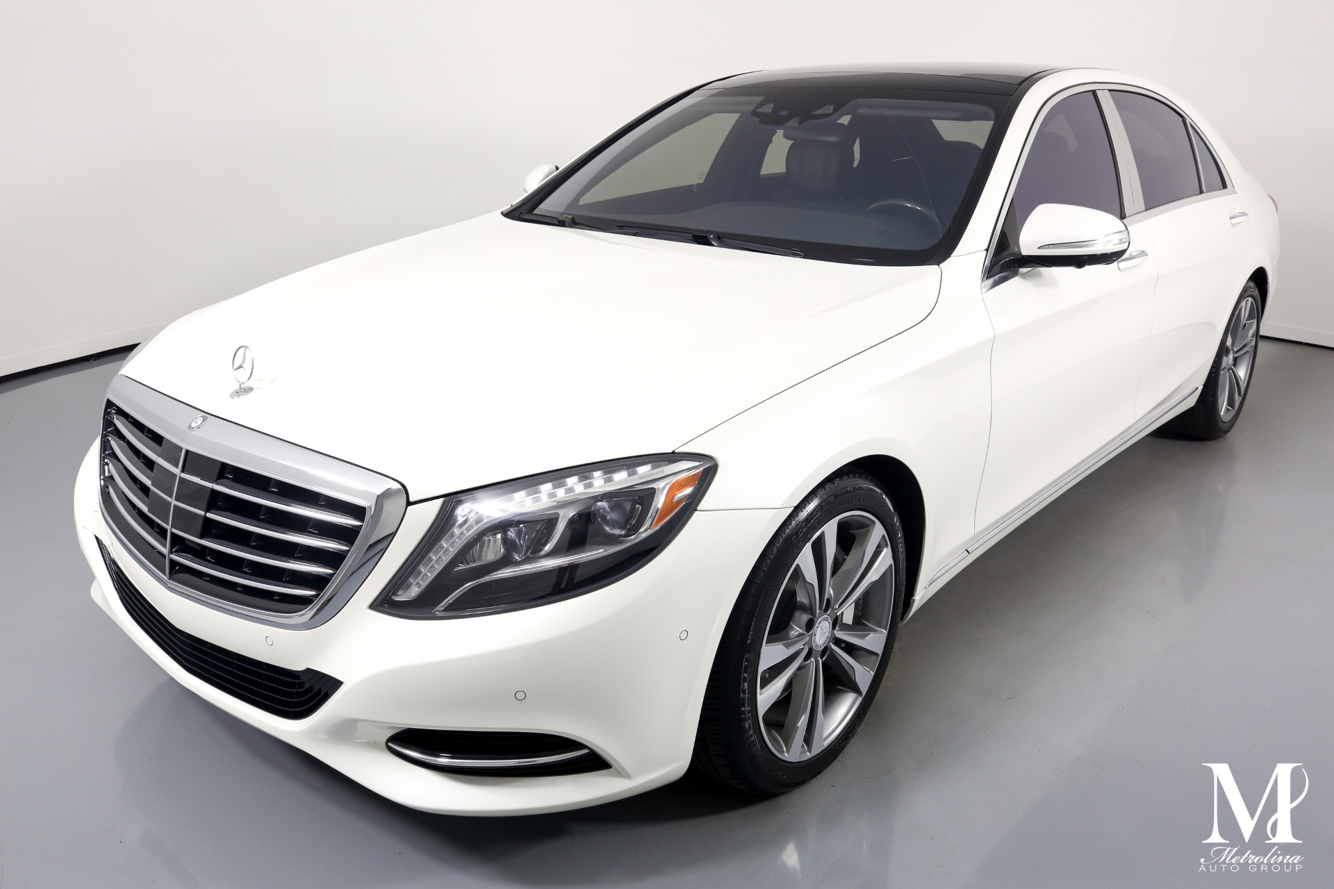 Used 2015 Mercedes-Benz S-Class S 550 4MATIC for sale $49,996 at Metrolina Auto Group in Charlotte NC 28217 - 4