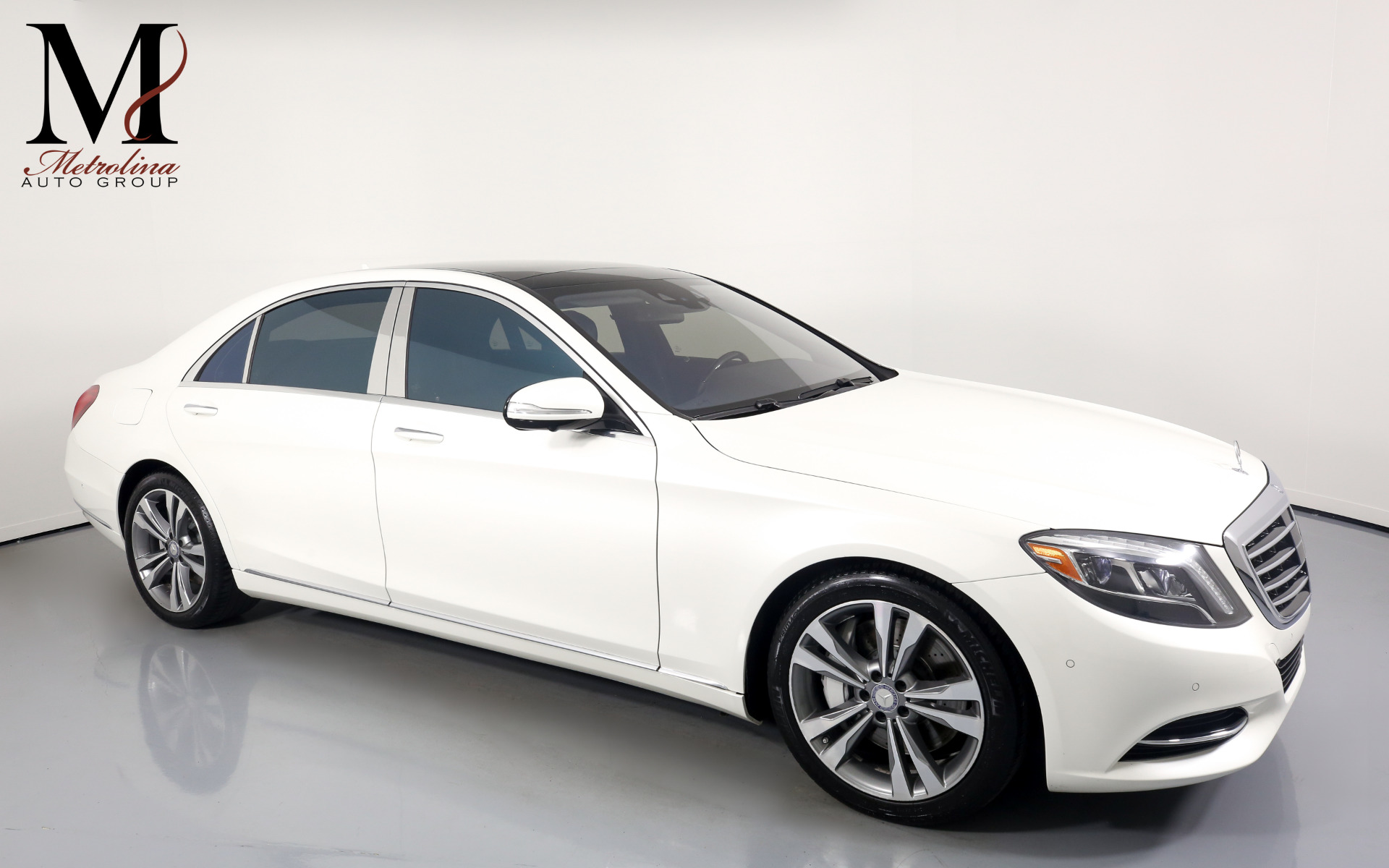 Used 2015 Mercedes-Benz S-Class S 550 4MATIC for sale $49,996 at Metrolina Auto Group in Charlotte NC 28217 - 1
