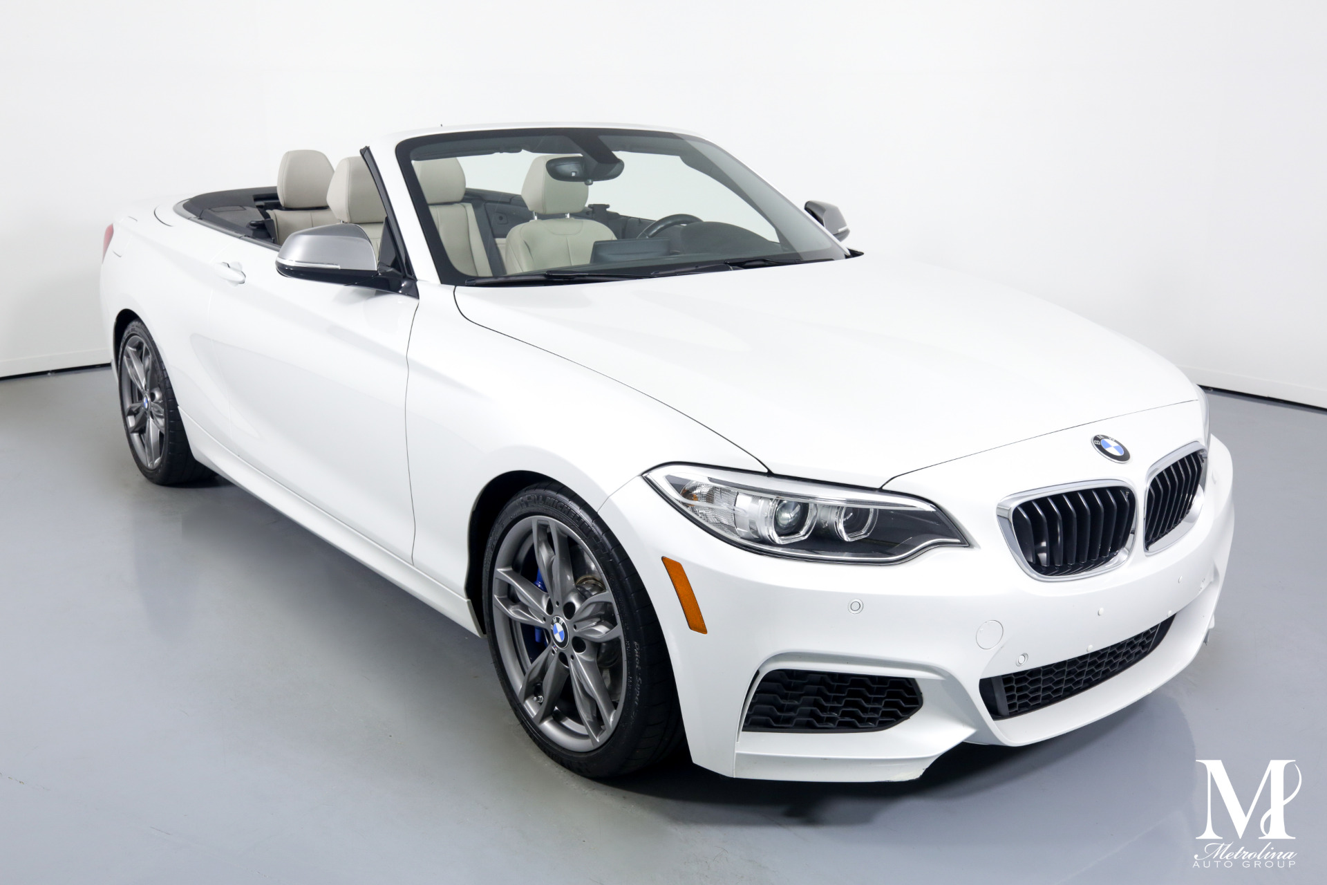 Used 2015 BMW 2 Series M235i for sale $32,996 at Metrolina Auto Group in Charlotte NC 28217 - 3