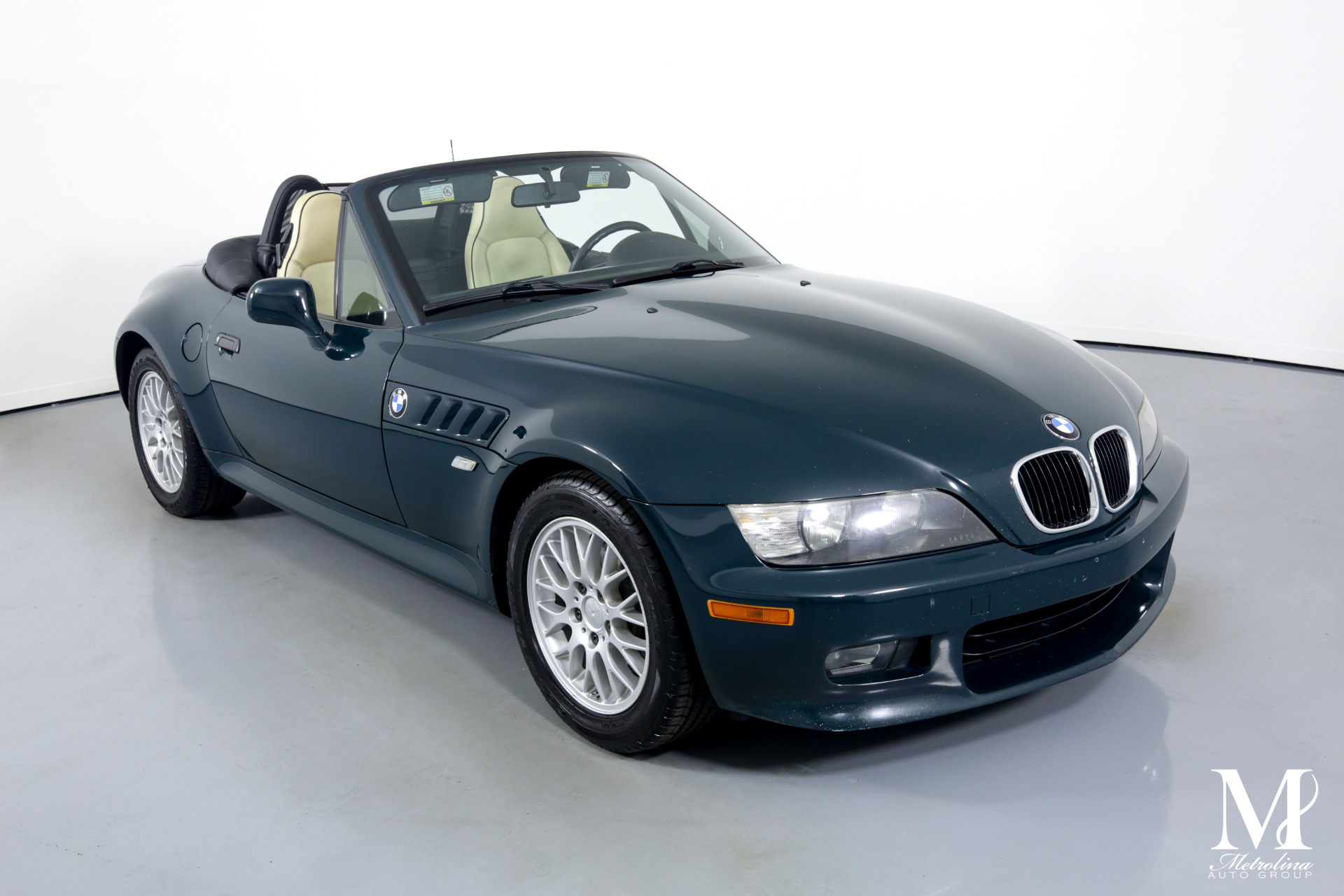 Used 1999 BMW Z3 2.8 for sale $14,996 at Metrolina Auto Group in Charlotte NC 28217 - 3