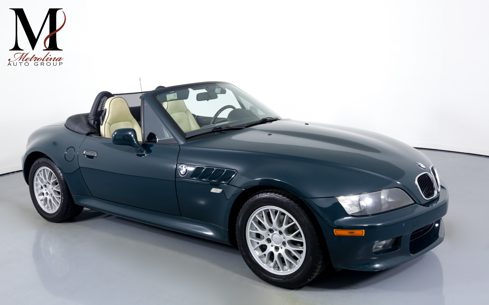 Used 1999 BMW Z3 2.8 for sale $14,996 at Metrolina Auto Group in Charlotte NC 28217 - 1