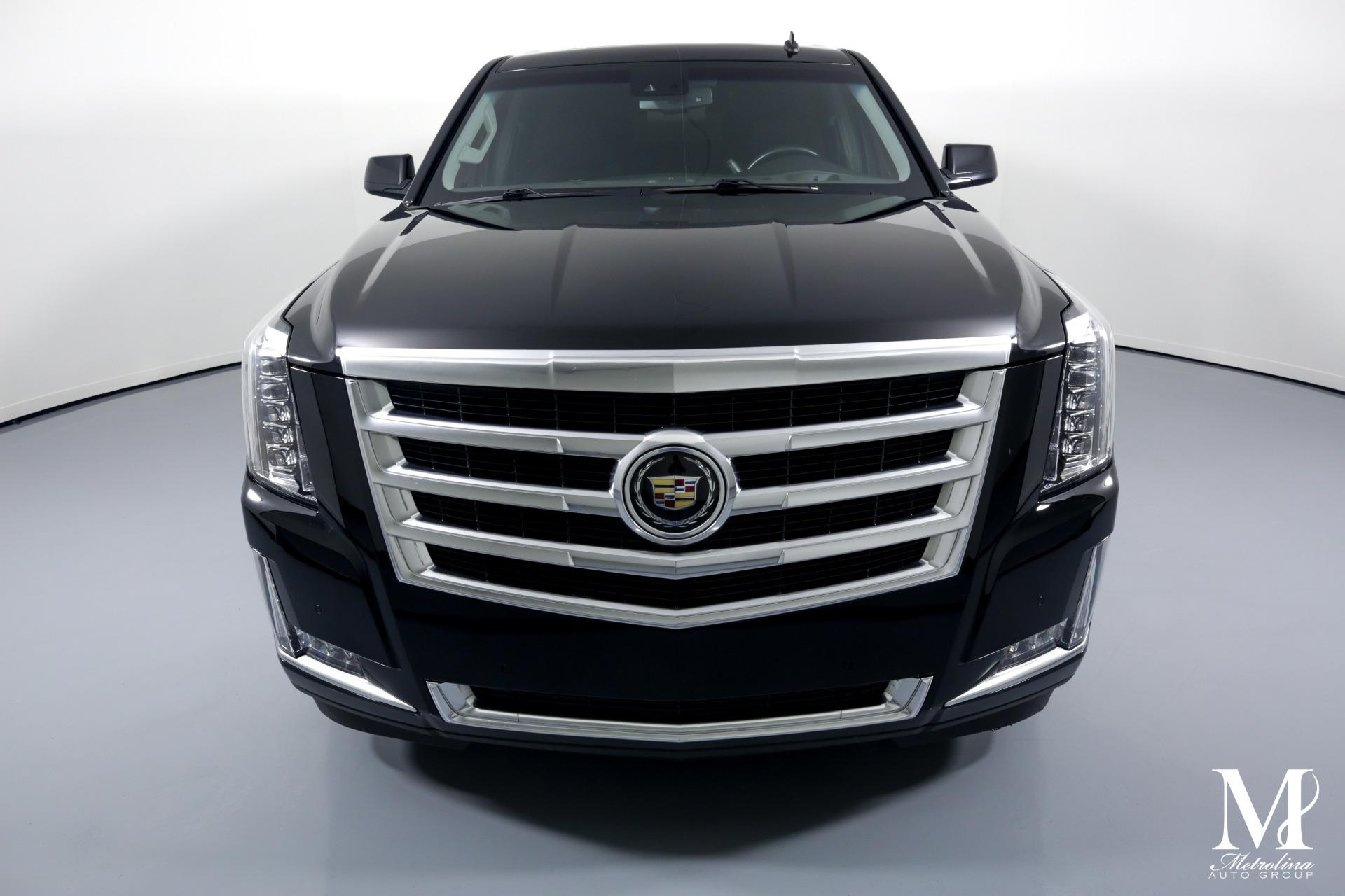 Used 2015 Cadillac Escalade ESV Premium for sale $59,996 at Metrolina Auto Group in Charlotte NC 28217 - 3