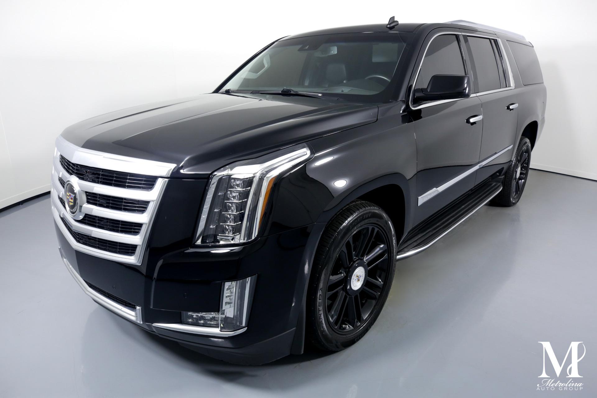 Used 2015 Cadillac Escalade ESV Premium for sale $59,996 at Metrolina Auto Group in Charlotte NC 28217 - 4