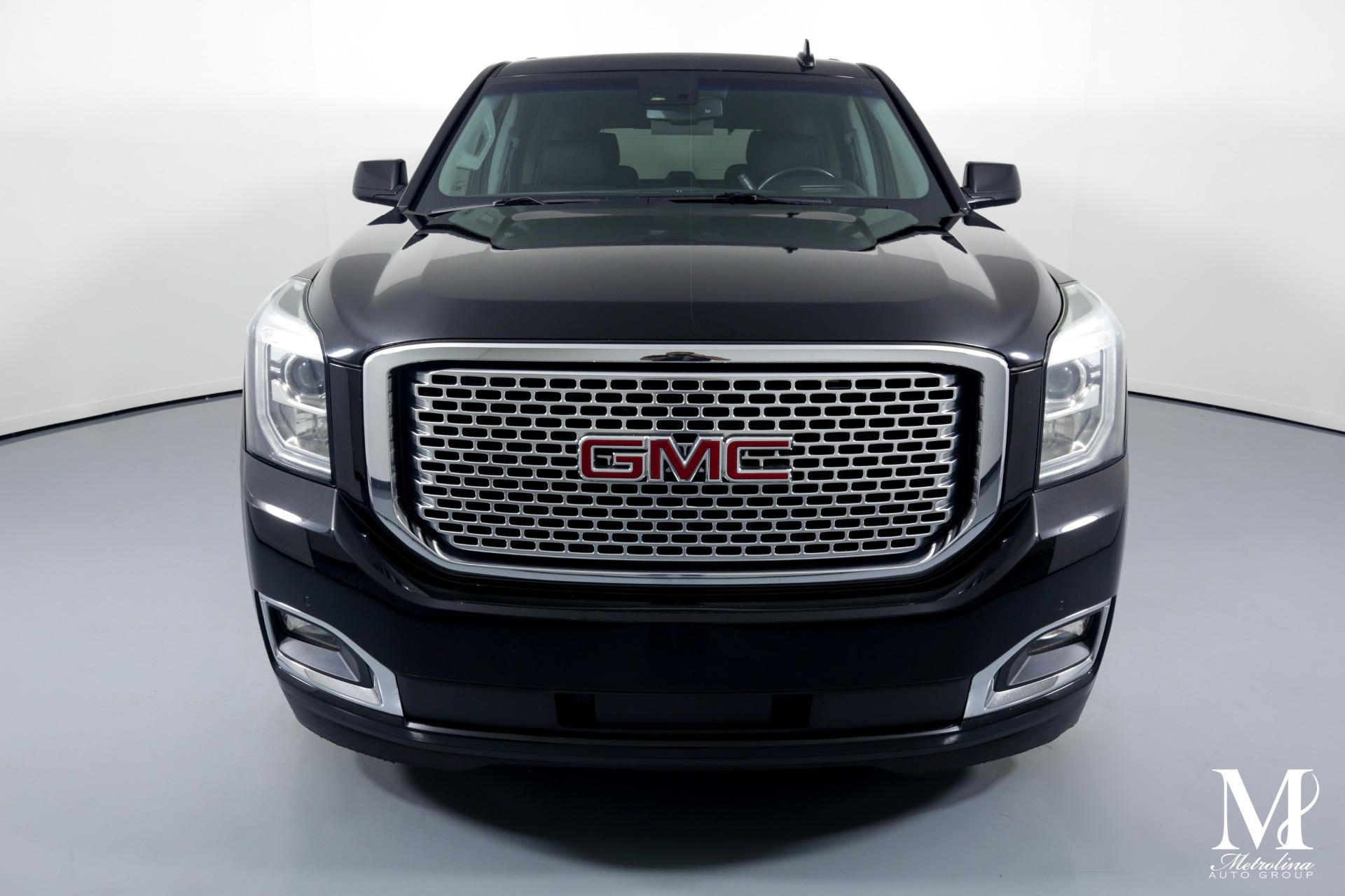 Used 2015 GMC Yukon Denali for sale $44,996 at Metrolina Auto Group in Charlotte NC 28217 - 3