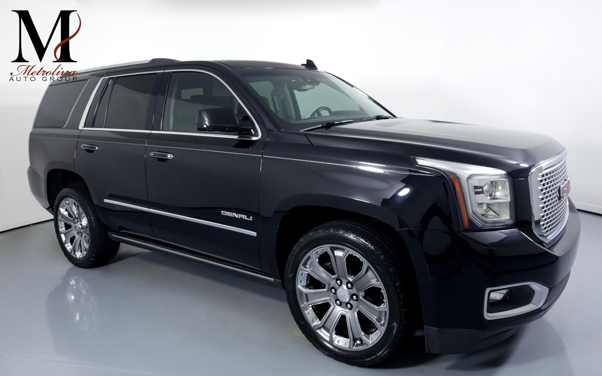 Used 2015 GMC Yukon Denali for sale $44,996 at Metrolina Auto Group in Charlotte NC 28217 - 1