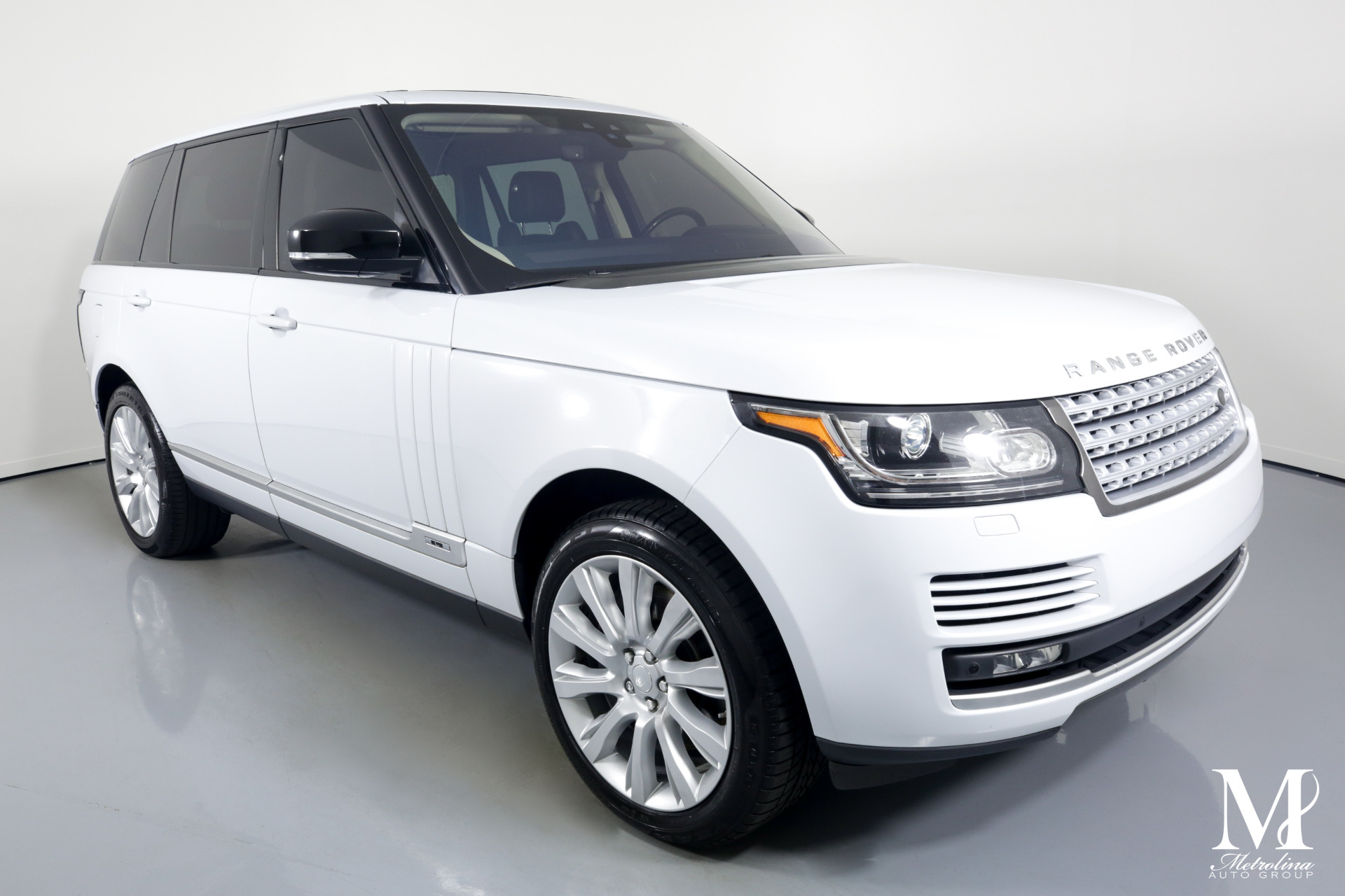 Used 2017 Land Rover Range Rover Supercharged LWB for sale $69,996 at Metrolina Auto Group in Charlotte NC 28217 - 2