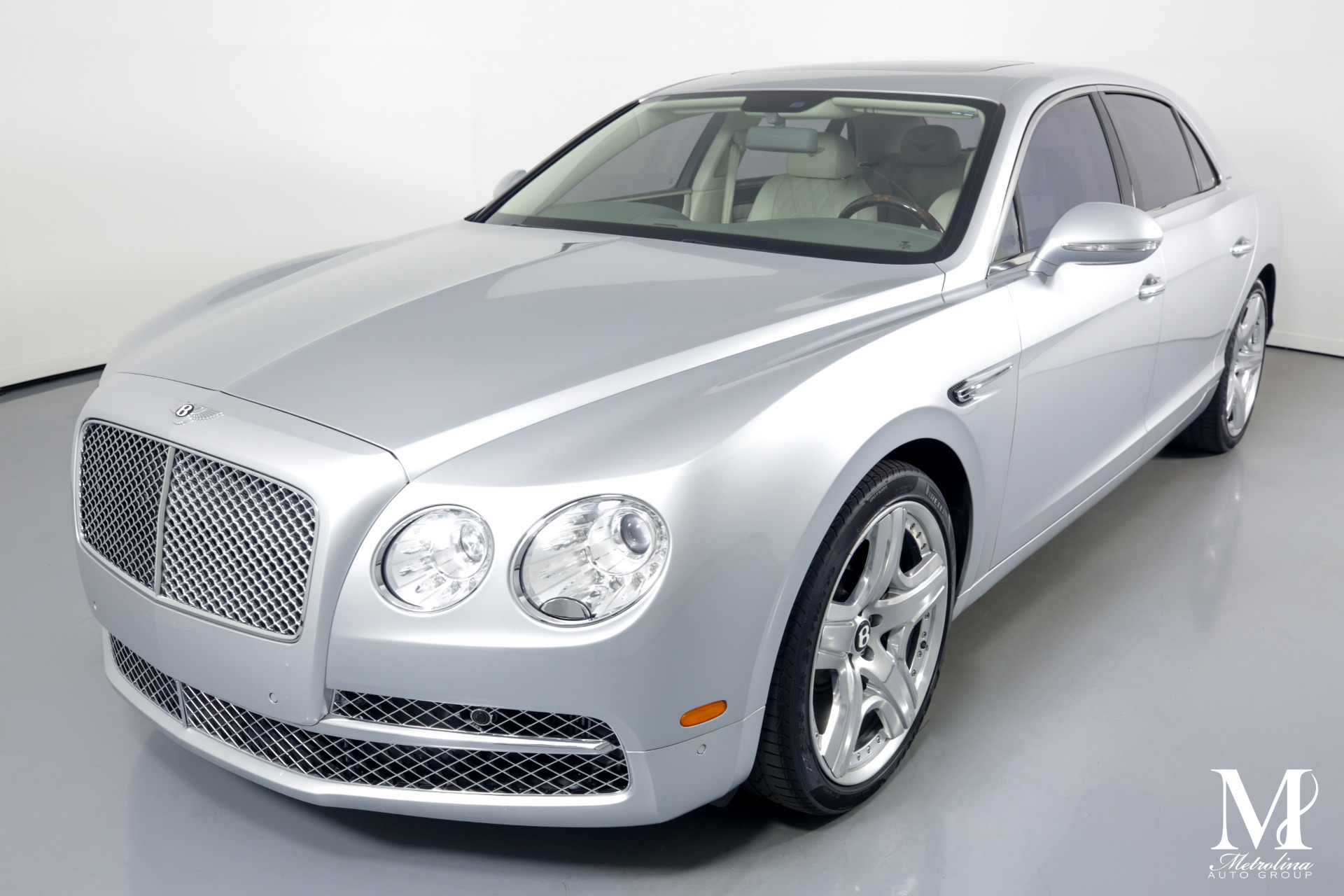 Used 2014 Bentley Flying Spur for sale $99,996 at Metrolina Auto Group in Charlotte NC 28217 - 4