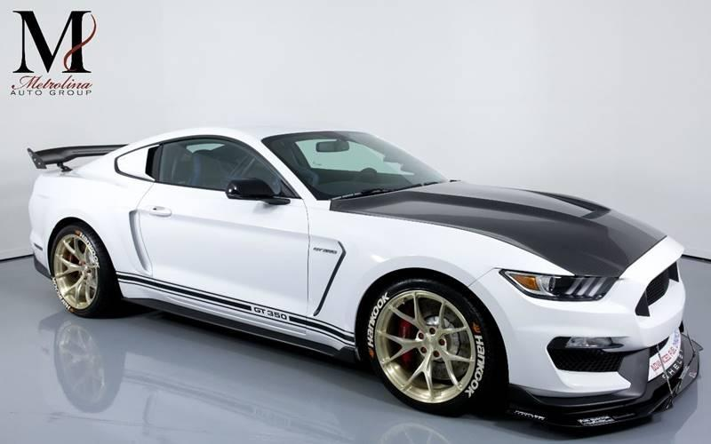Used 2017 Ford Mustang Shelby GT350 2dr Fastback for sale Sold at Metrolina Auto Group in Charlotte NC 28217 - 1