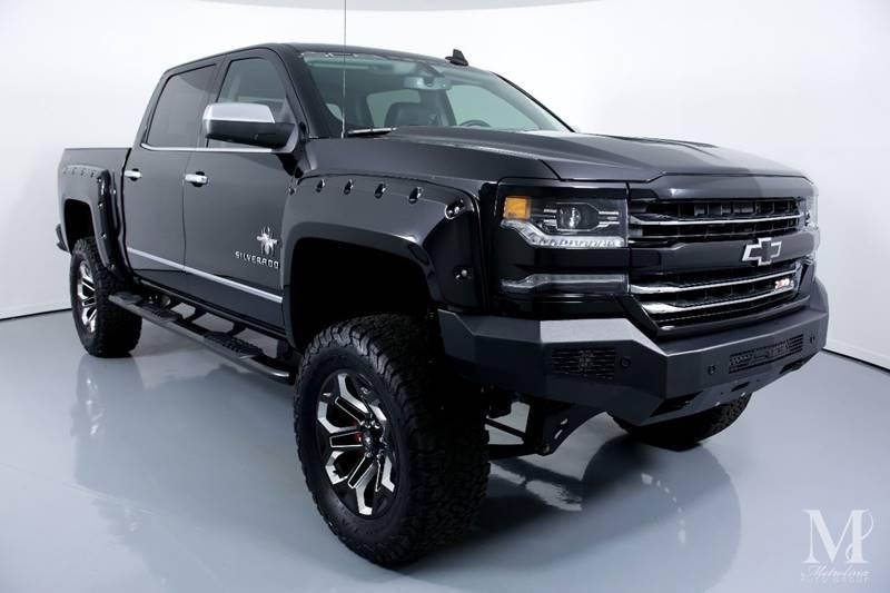 Used 2018 Chevrolet Silverado 1500 LTZ 4x4 4dr Crew Cab 5.8 ft. SB for sale Sold at Metrolina Auto Group in Charlotte NC 28217 - 2