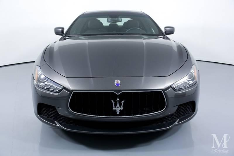 Used 2015 Maserati Ghibli Base 4dr Sedan for sale Sold at Metrolina Auto Group in Charlotte NC 28217 - 3