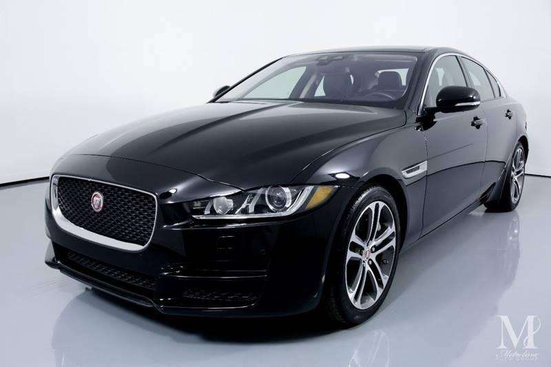 Used 2017 Jaguar XE 35t Premium 4dr Sedan for sale Sold at Metrolina Auto Group in Charlotte NC 28217 - 4