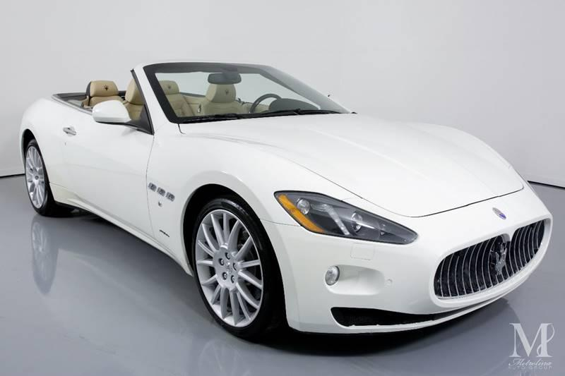Used 2013 Maserati GranTurismo Base 2dr Convertible for sale Sold at Metrolina Auto Group in Charlotte NC 28217 - 3