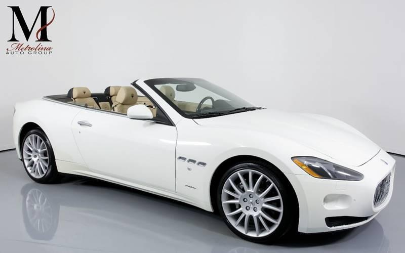 Used 2013 Maserati GranTurismo Base 2dr Convertible for sale Sold at Metrolina Auto Group in Charlotte NC 28217 - 1