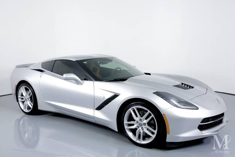 Used 2016 Chevrolet Corvette Stingray Z51 2dr Coupe w/2LT for sale Sold at Metrolina Auto Group in Charlotte NC 28217 - 2