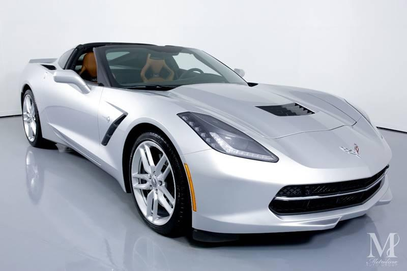 Used 2016 Chevrolet Corvette Stingray Z51 2dr Coupe w/2LT for sale Sold at Metrolina Auto Group in Charlotte NC 28217 - 3