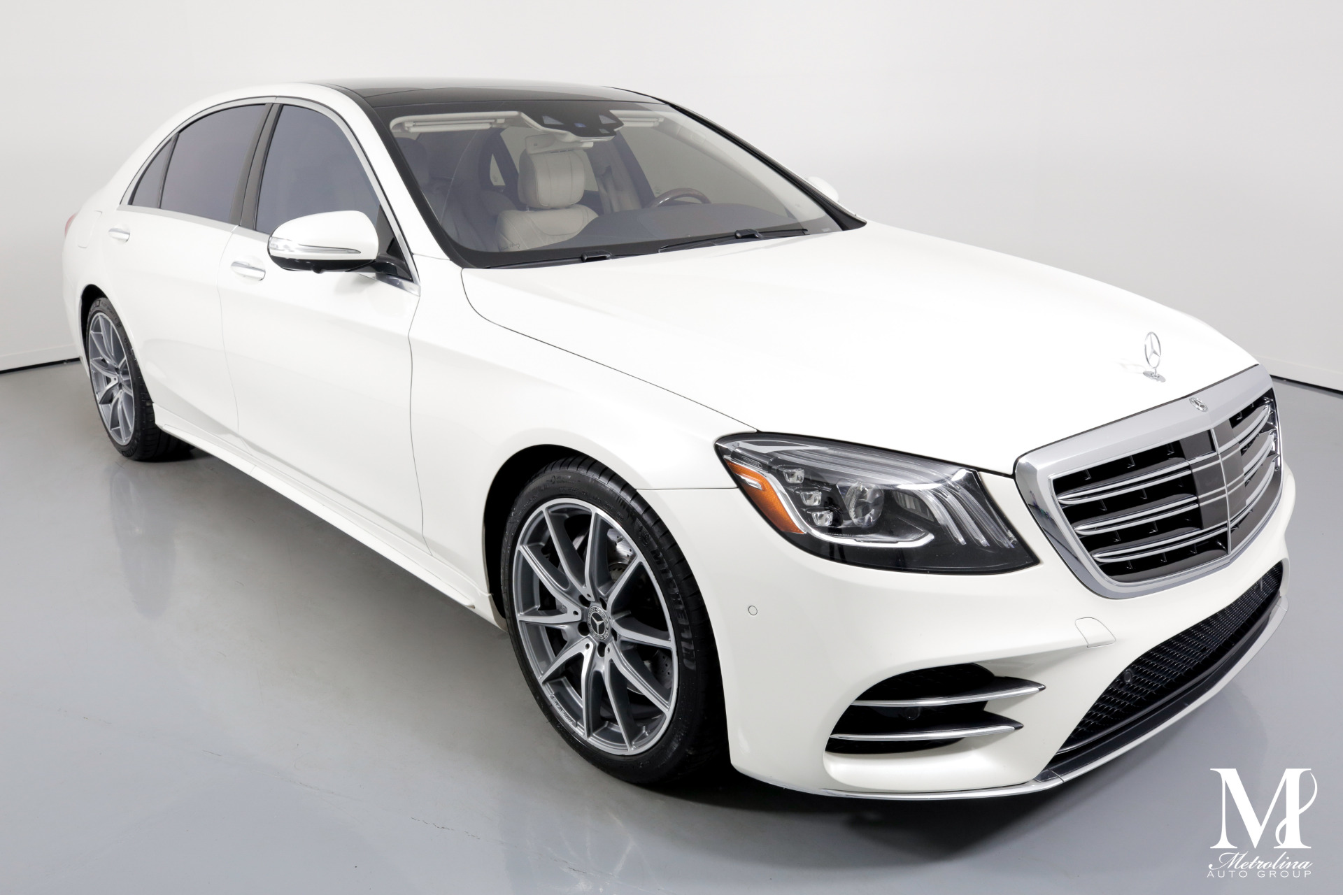 Used 2018 Mercedes-Benz S-Class S 560 4dr Sedan for sale Sold at Metrolina Auto Group in Charlotte NC 28217 - 2