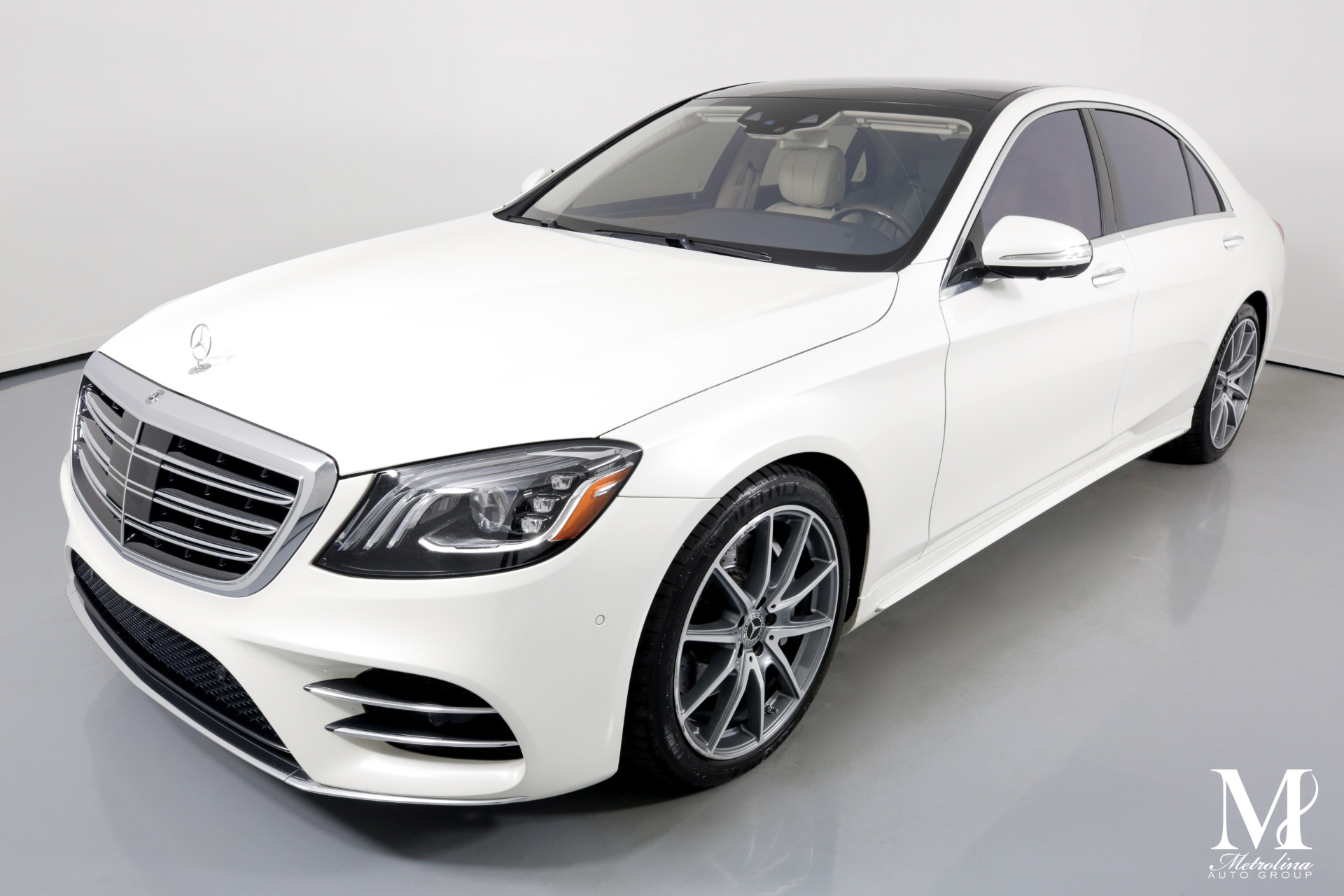 Used 2018 Mercedes-Benz S-Class S 560 4dr Sedan for sale Sold at Metrolina Auto Group in Charlotte NC 28217 - 4