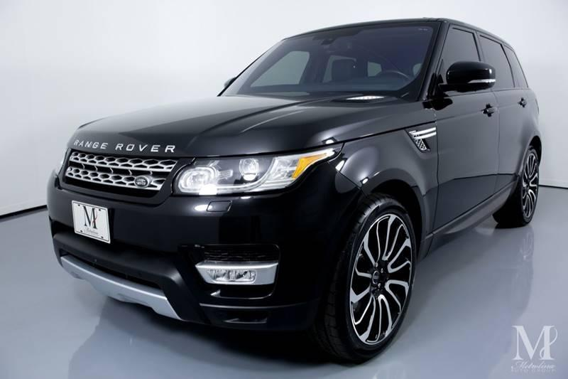 Used 2016 Land Rover Range Rover Sport Supercharged AWD 4dr SUV for sale Sold at Metrolina Auto Group in Charlotte NC 28217 - 4