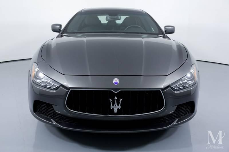 Used 2016 Maserati Ghibli S 4dr Sedan for sale Sold at Metrolina Auto Group in Charlotte NC 28217 - 3