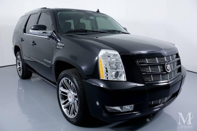 Used 2012 Cadillac Escalade Premium AWD 4dr SUV for sale Sold at Metrolina Auto Group in Charlotte NC 28217 - 2