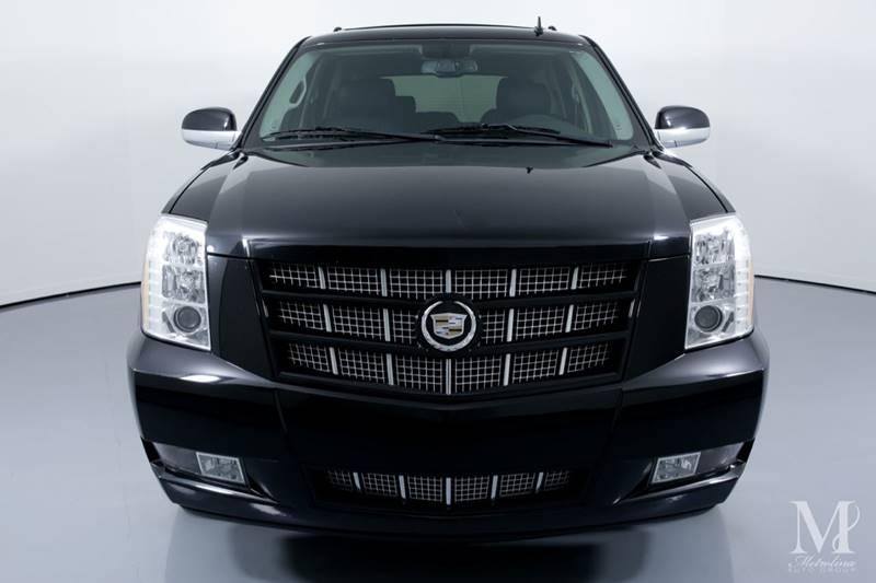 Used 2012 Cadillac Escalade Premium AWD 4dr SUV for sale Sold at Metrolina Auto Group in Charlotte NC 28217 - 3