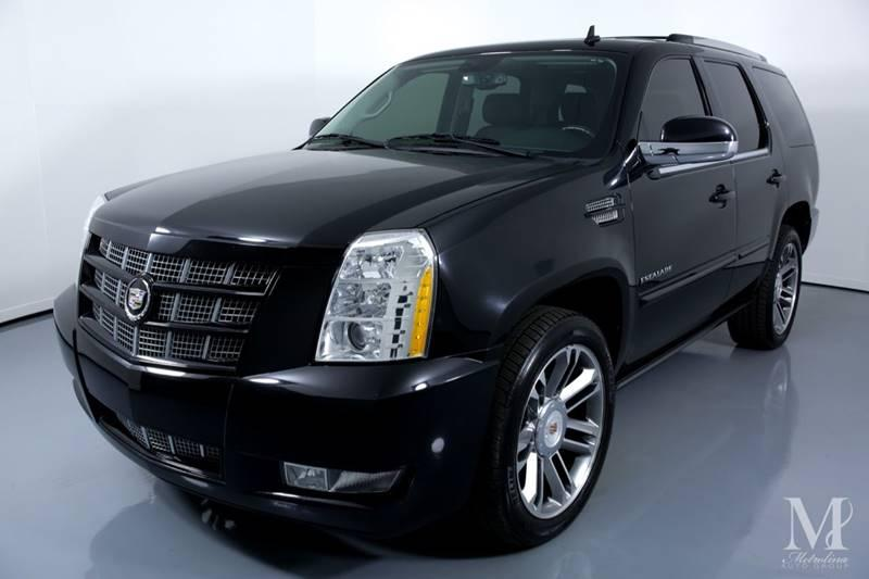 Used 2012 Cadillac Escalade Premium AWD 4dr SUV for sale Sold at Metrolina Auto Group in Charlotte NC 28217 - 4