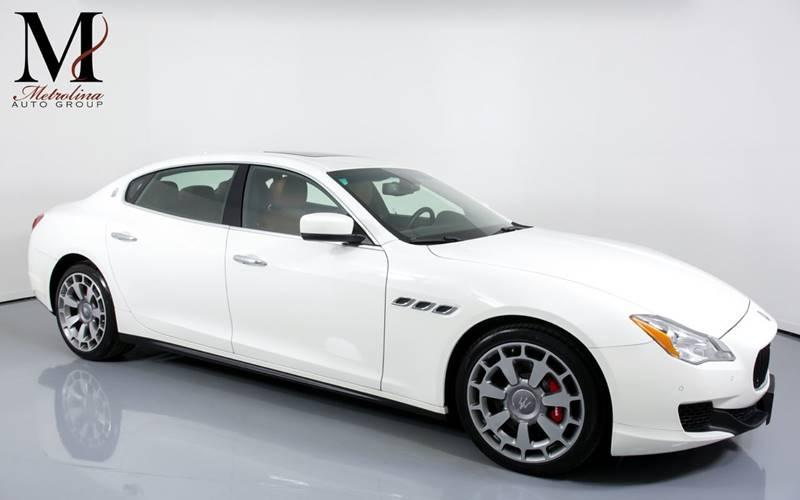 Used 2015 Maserati Quattroporte S Q4 AWD 4dr Sedan for sale Sold at Metrolina Auto Group in Charlotte NC 28217 - 1