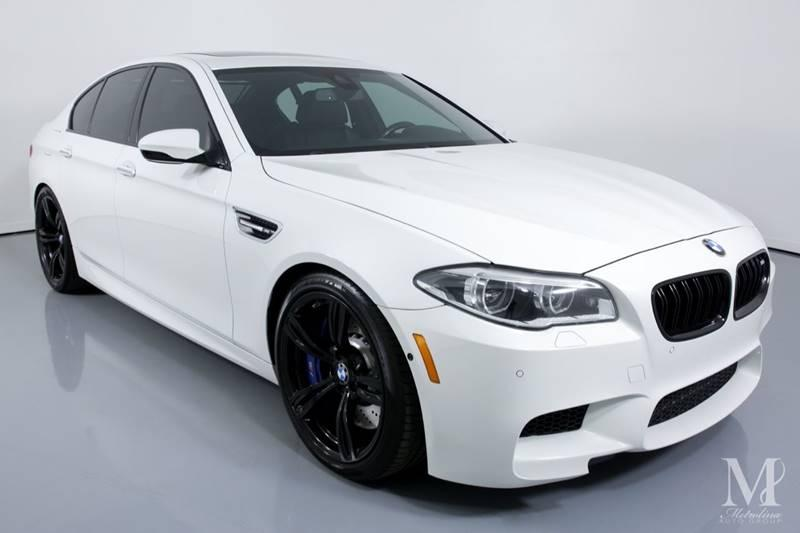Used 2015 BMW M5 Base 4dr Sedan for sale Sold at Metrolina Auto Group in Charlotte NC 28217 - 2