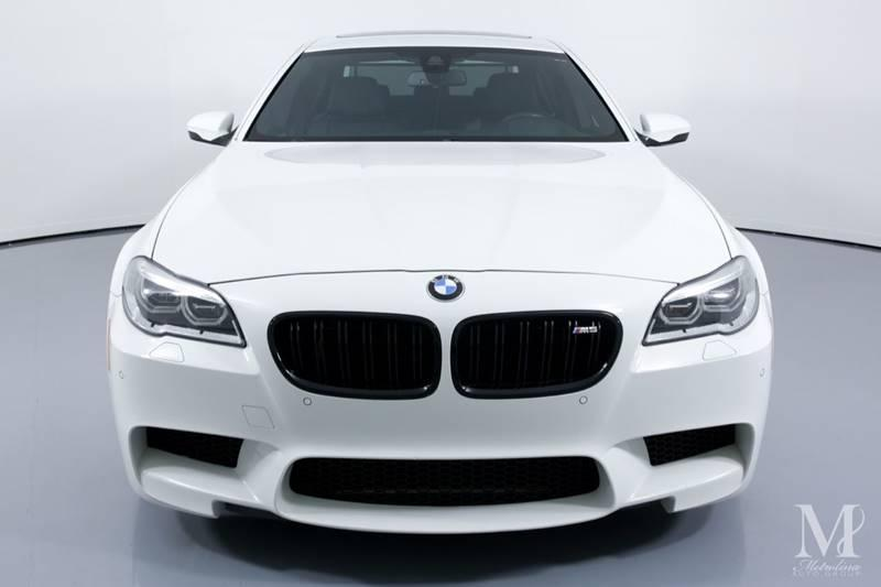 Used 2015 BMW M5 Base 4dr Sedan for sale Sold at Metrolina Auto Group in Charlotte NC 28217 - 3