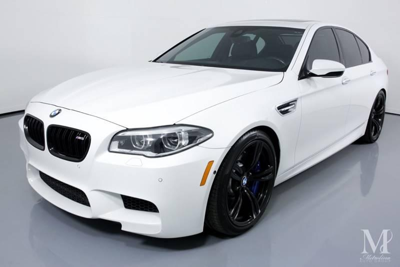 Used 2015 BMW M5 Base 4dr Sedan for sale Sold at Metrolina Auto Group in Charlotte NC 28217 - 4