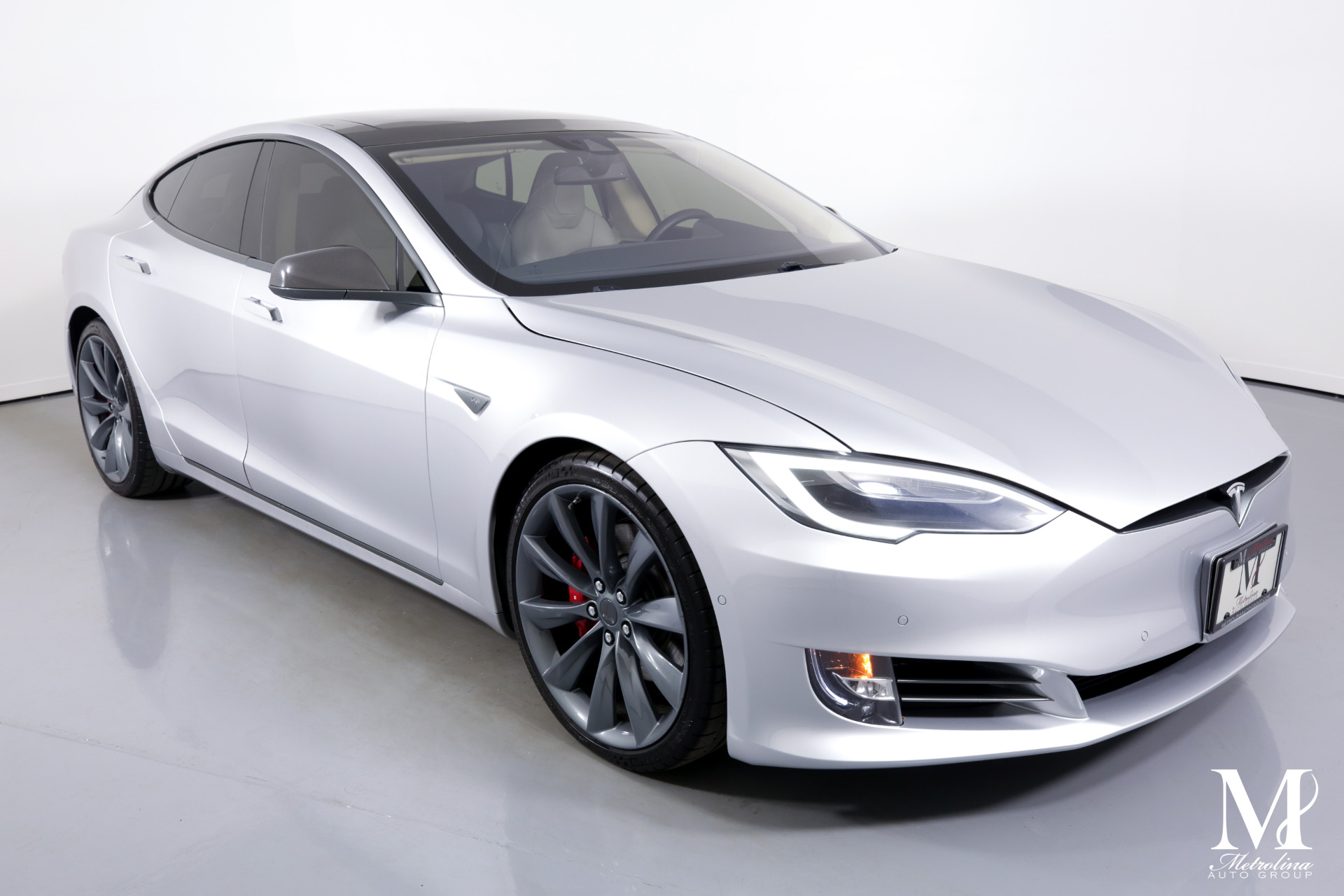 Used 2016 Tesla Model S P90D AWD 4dr Liftback (midyear release) for sale $71,456 at Metrolina Auto Group in Charlotte NC 28217 - 2